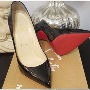 Christian Louboutin Pigalle 120mm Patent Heel